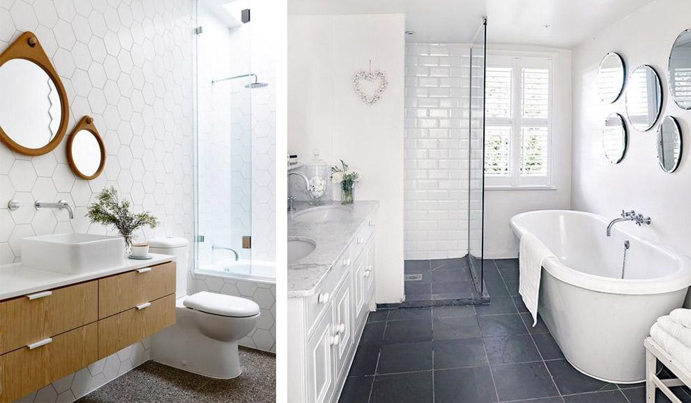 Espejos redondos para el cuarto de ba o banium - Espejos redondos para banos ...