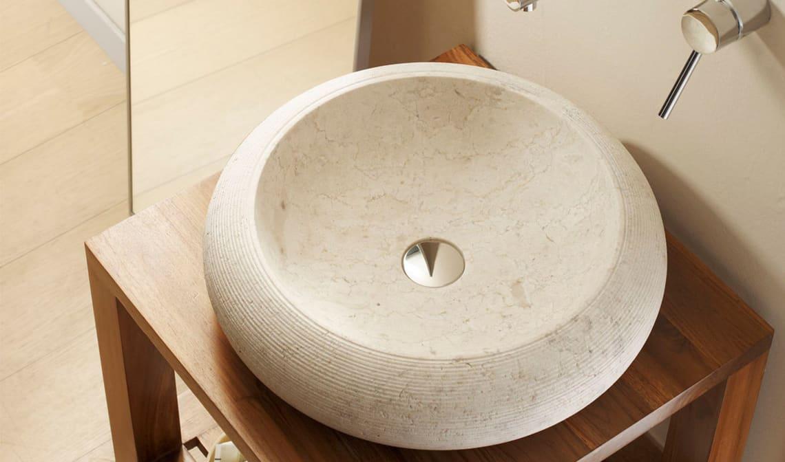 Los mejores lavabos de piedra banium - Lavamanos de piedra ...