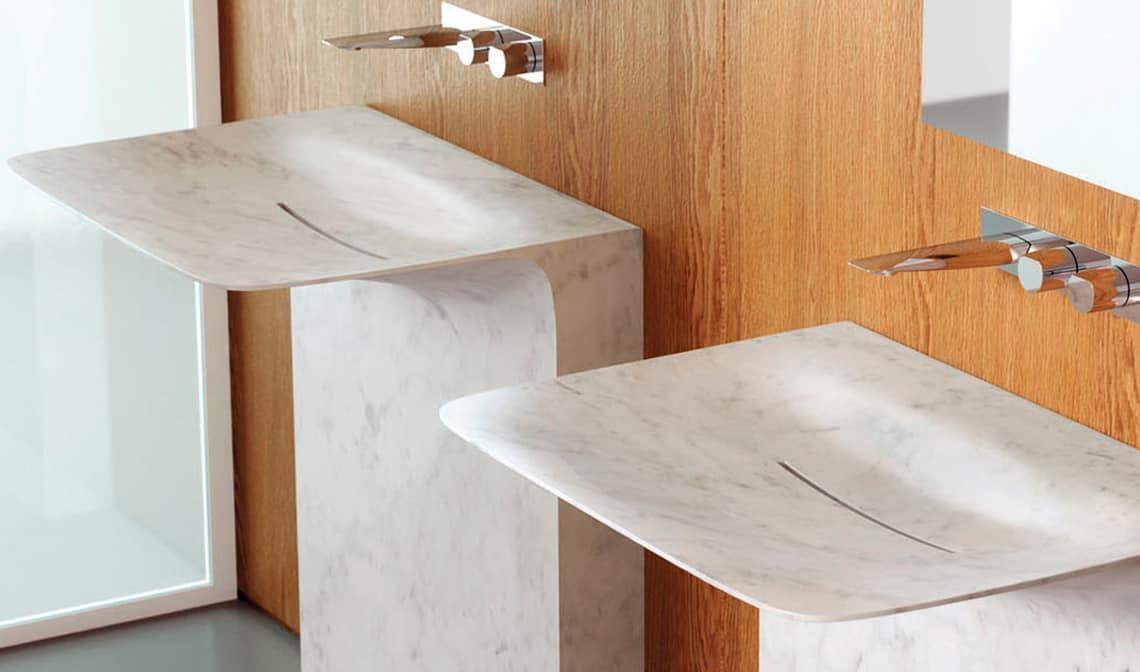 Lavabos con pedestal todas las posibilidades banium for Lavabo con pedestal