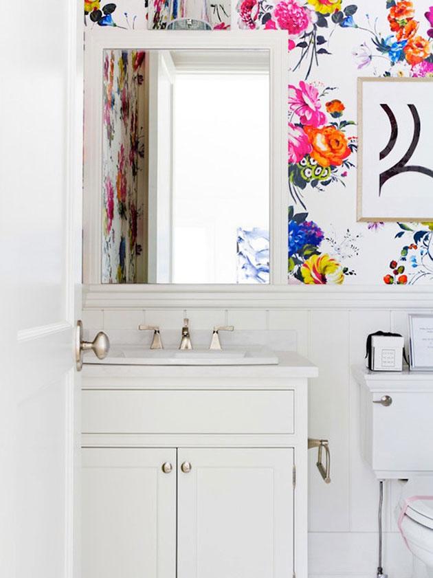 7 diseños de papeles pintados perfectos para el cuarto de baño ...