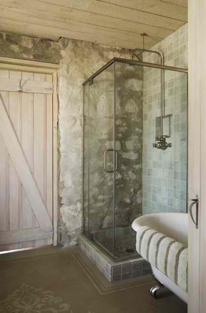 Duchas de piedra fotos ideas y consejos banium - Plato ducha piedra natural ...