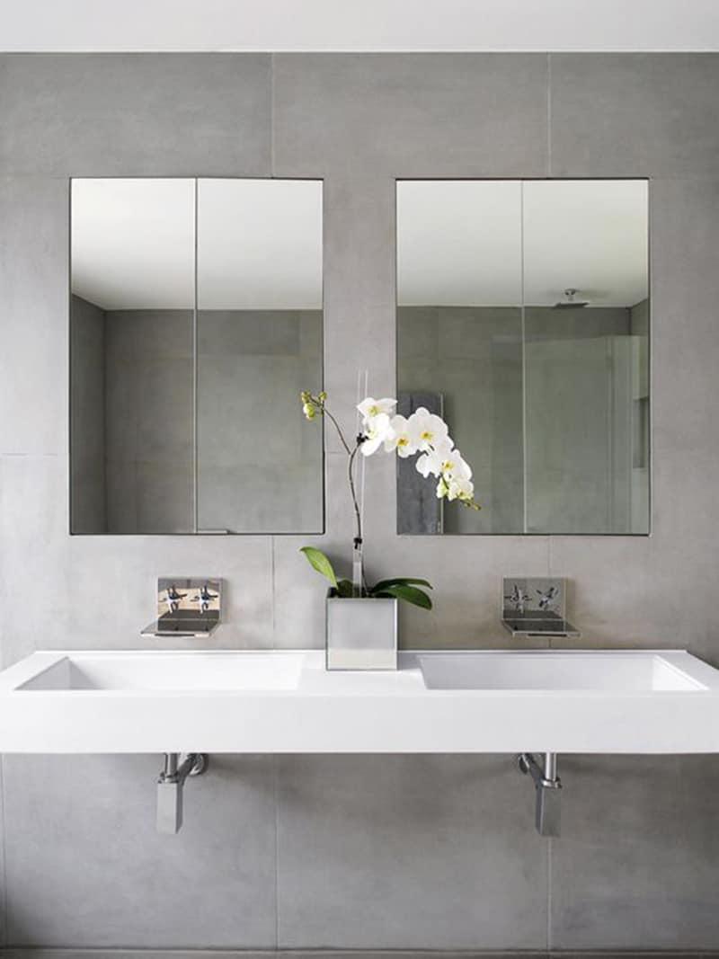 lavabos dobles para el cuarto de ba o banium