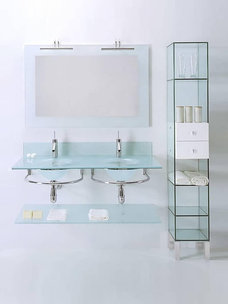 Encimeras de cristal para lavabos top best cheap mueble - Encimeras de cristal ...
