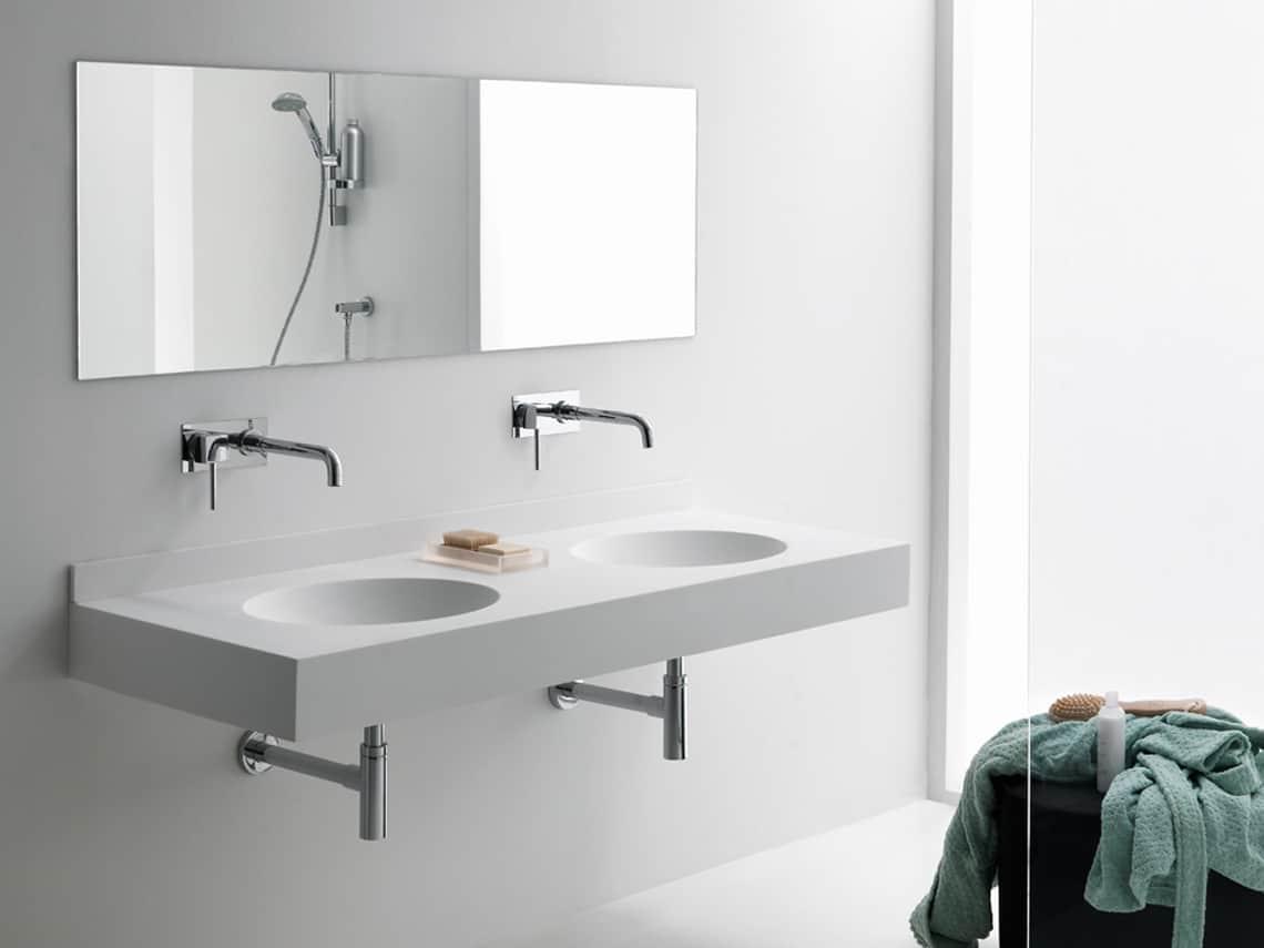 lavamanos doble