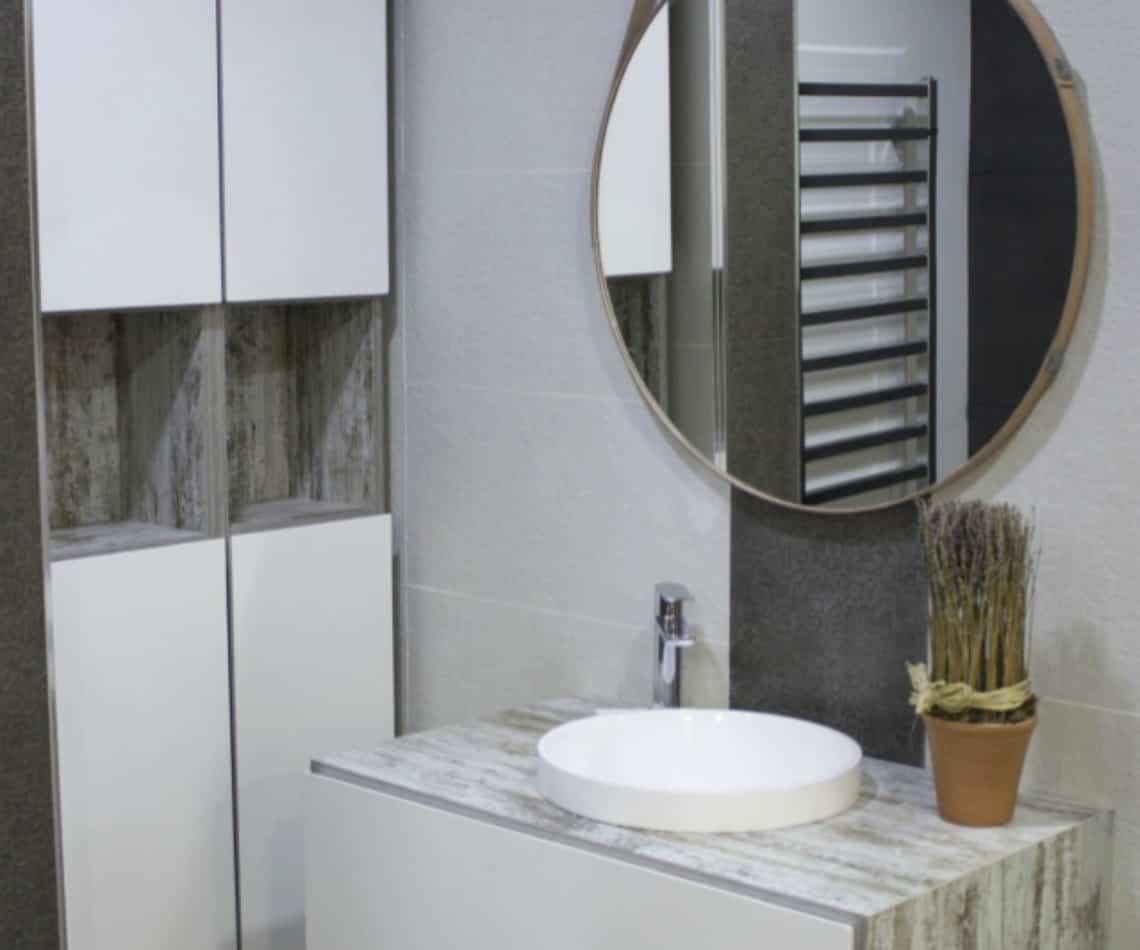 mueble moderno para el baño