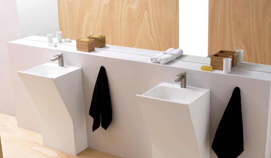 lavabos modernos para cuartos de bao