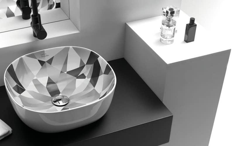 lavabo olea cuadrado diamante