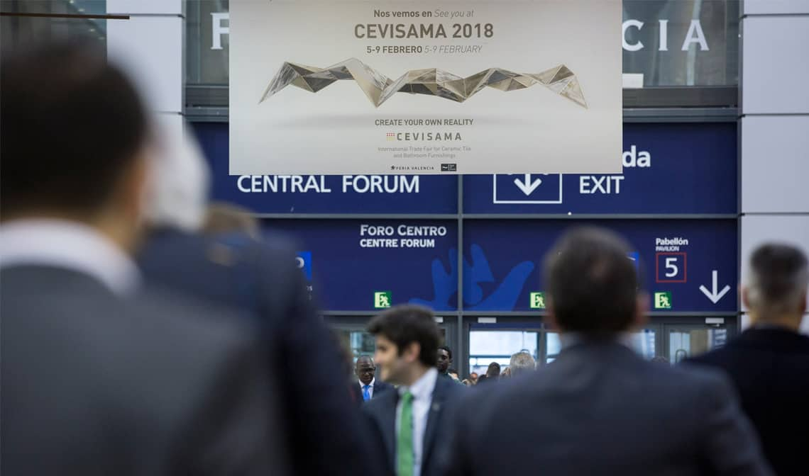 Cevisama 2018 bate record de inscripciones banium for Cevisama 2018