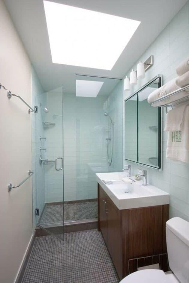 15 ideas para hacer un plato de ducha de obra banium for Ideas de banos pequenos con ducha