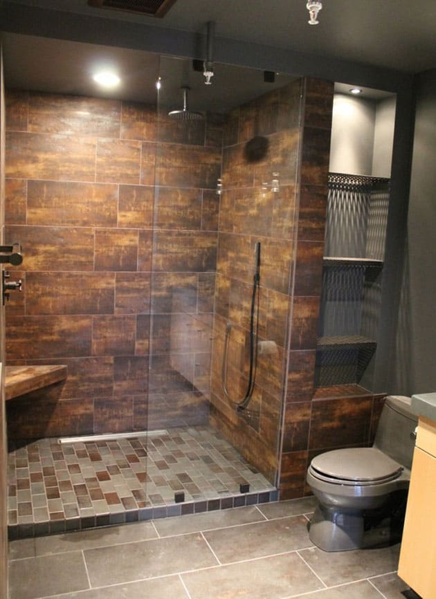 15 ideas para hacer un plato de ducha de obra banium for Fotos de duchas
