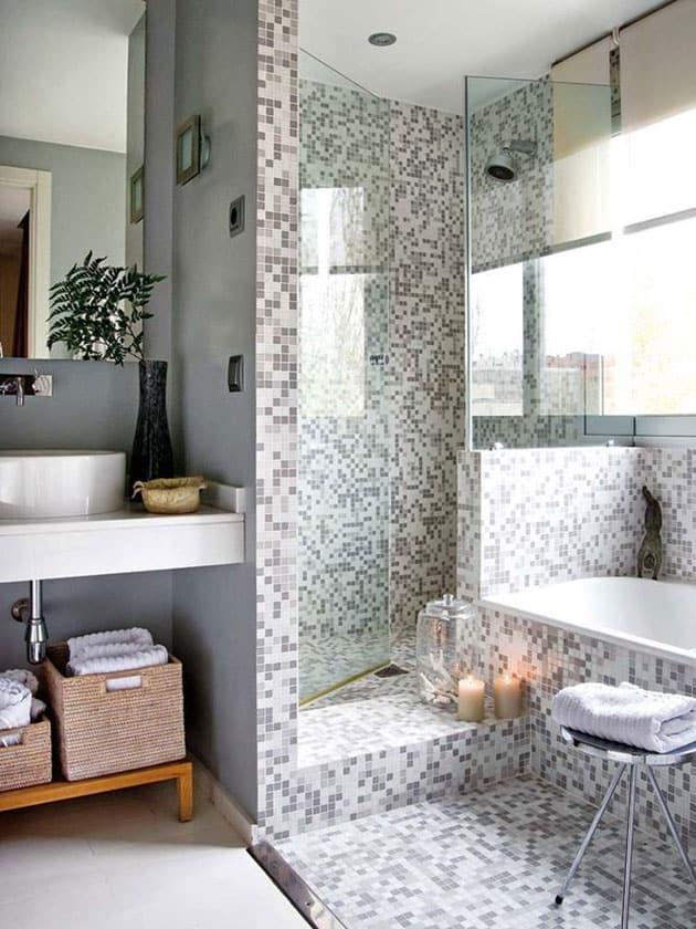 15 ideas para hacer un plato de ducha de obra banium for Como colocar un plato de ducha