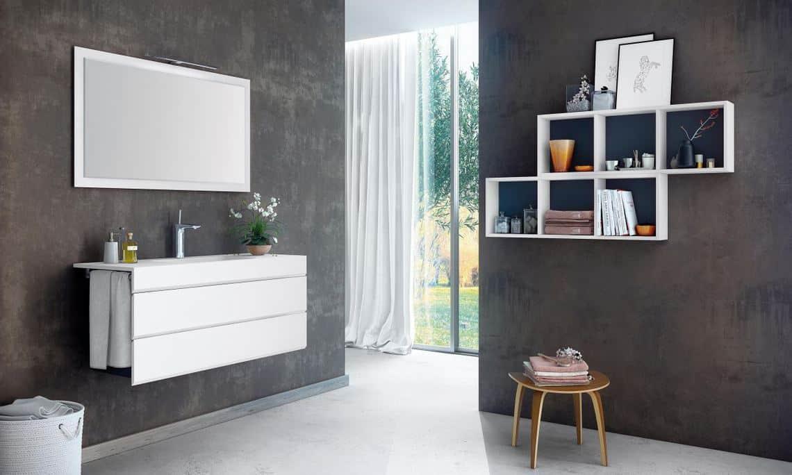 Muebles de baño, estilo y diseño sin hacer obras y ganando ...