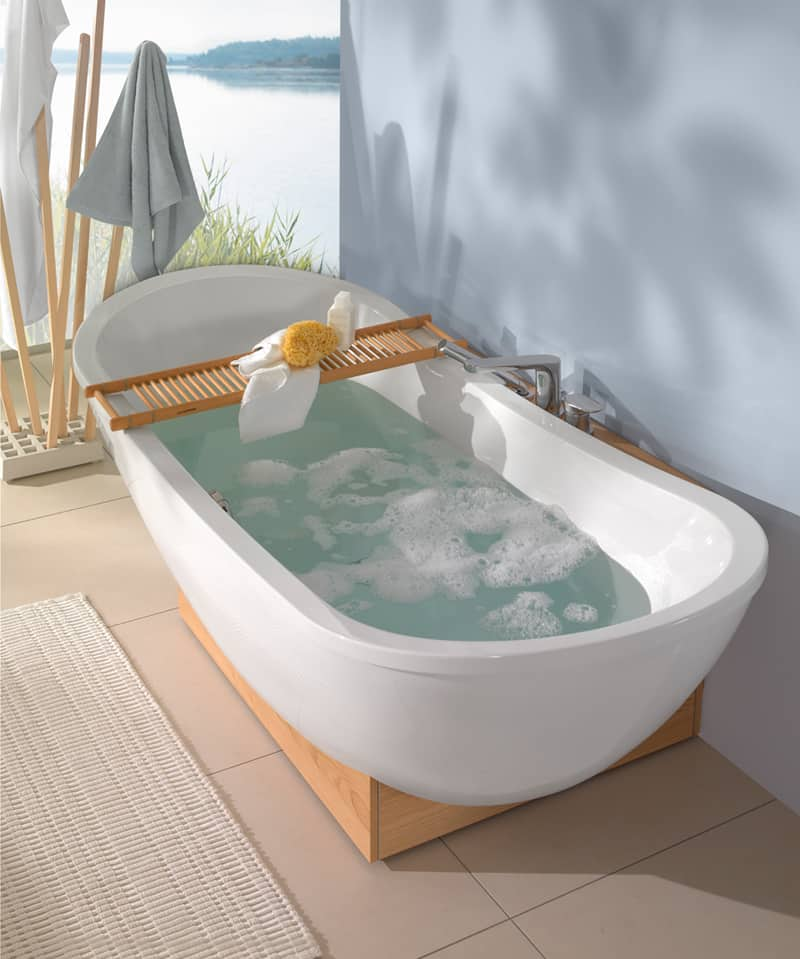 quaryl el material exclusivo de villeroy boch banium. Black Bedroom Furniture Sets. Home Design Ideas