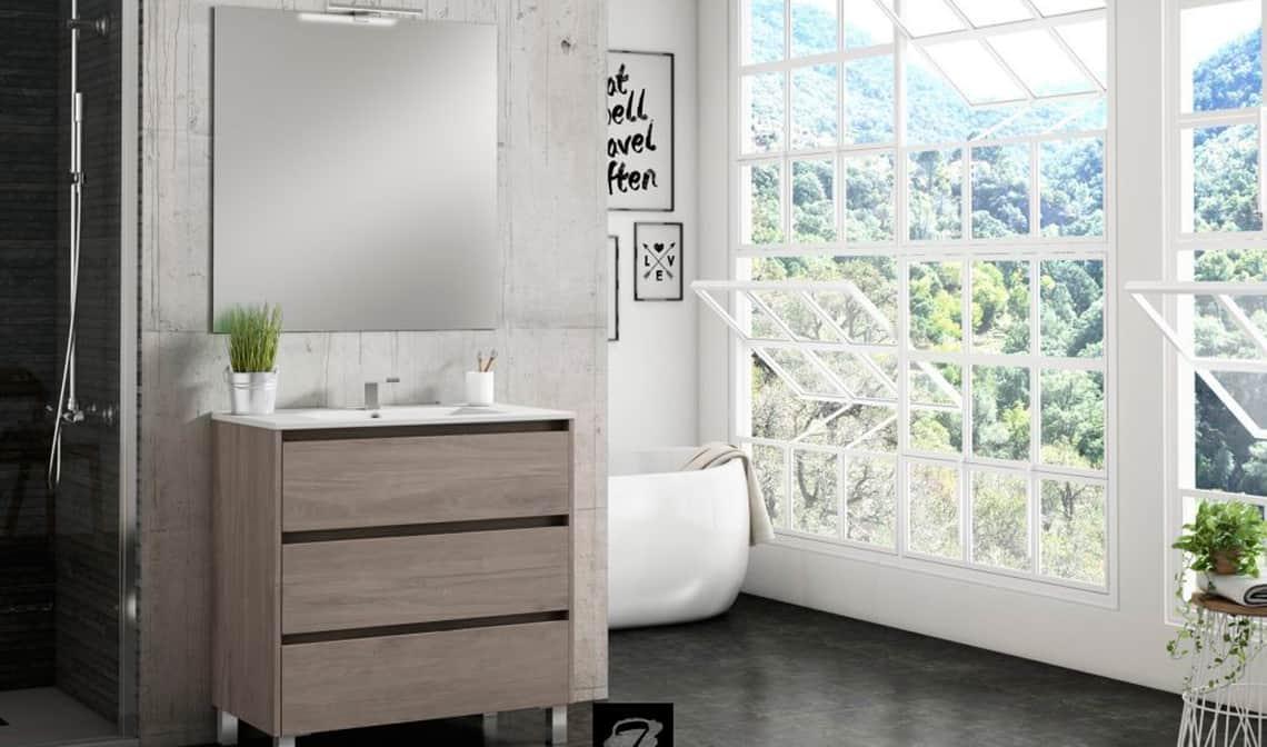 Dale un toque otoñal a tu baño con el mueble Segos - Banium