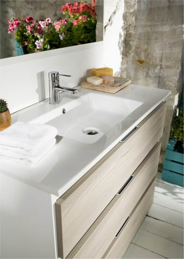 El mueble de baño estilo nórdico perfecto - Banium