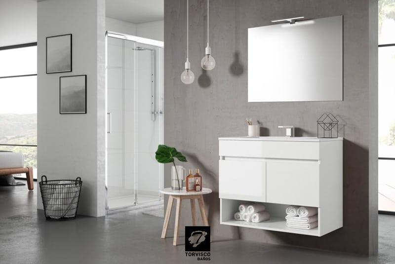 Mueble Sete de Torvisco Group acabado Blanco