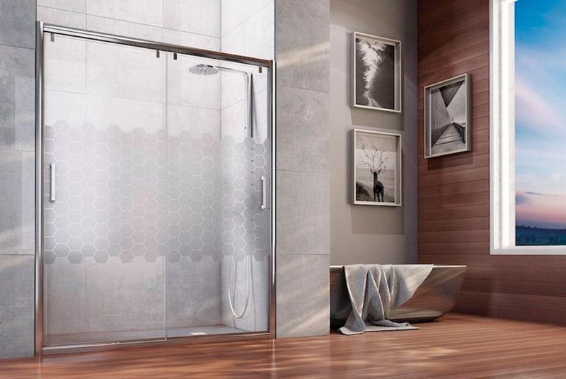 5 modelos de mamparas de ba o modernas banium for Mamparas de ducha modernas