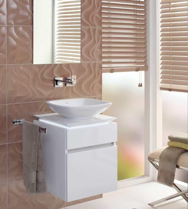 Muebles para baños pequeños - Banium