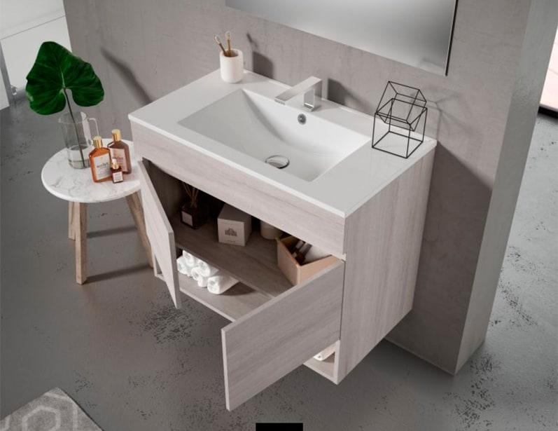 Muebles suspendidos con clase para el cuarto de baño | Banium.com