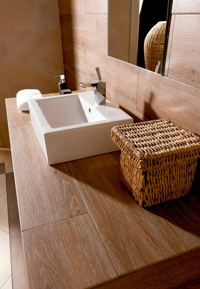 Pavimentos y revestimientos para el cuarto de baño