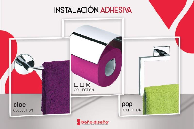 Ventajas de los accesorios con adhesivo para el cuarto de baño