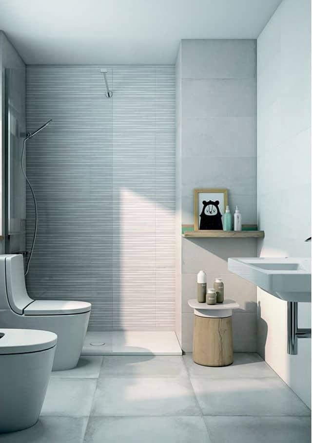 Nuevos revestimientos para crear ba os con un gran dise o for Revestimiento de paredes para duchas