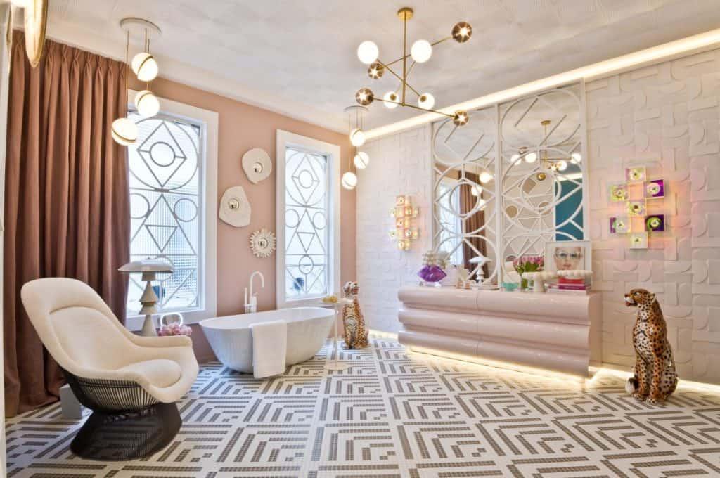 Baños en rosa