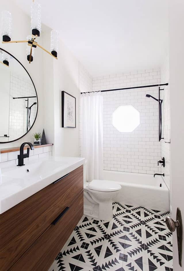 fotos de ideas de azulejos de bañera Ideas Para Revestir El Bao Con Azulejos Mixtos Baniumcom