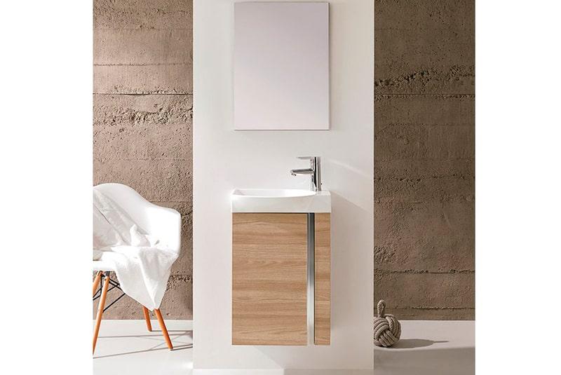 5 muebles para baños pequeños