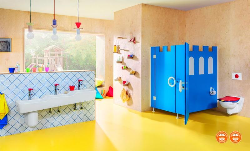 Un cuarto de baño para niños | Banium.com