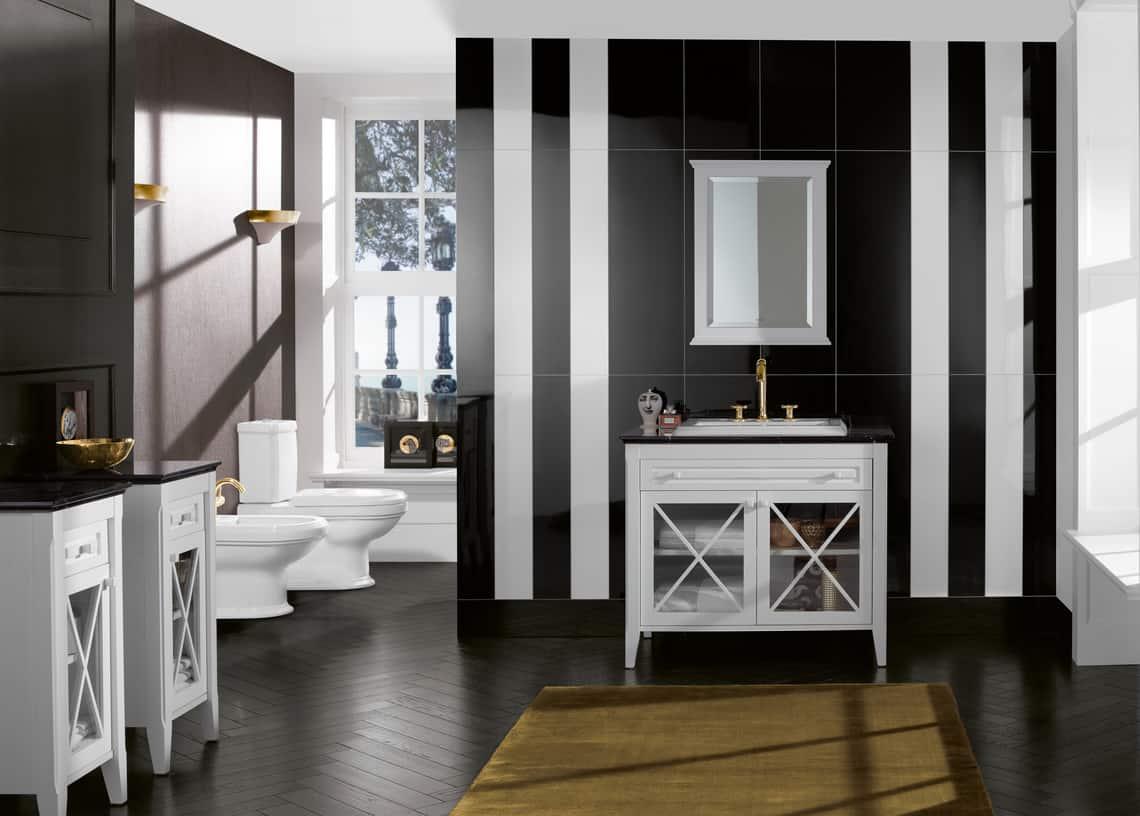 Cuarto de baño clásico y muy elegante | Banium.com