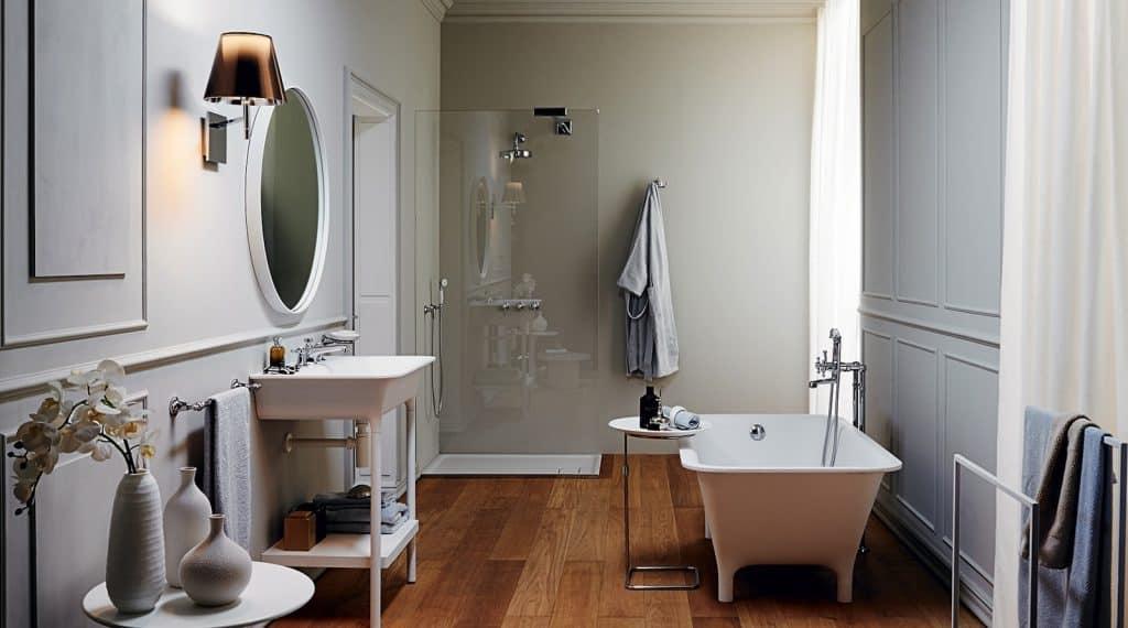 Cuarto de baño Celebrity en tonos blancos | Banium.com