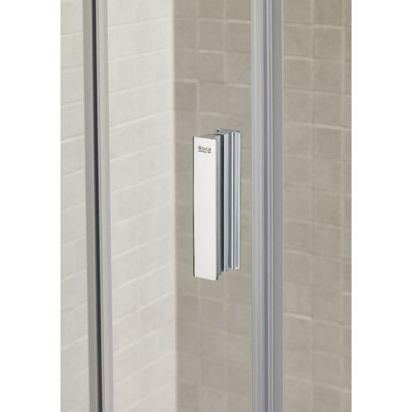 Mampara de ducha 1 hoja corredera + 1 fija - URA - Roca