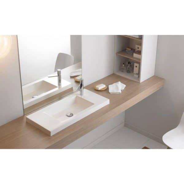 Lavabo sobremueble / encastre - Bathco - Soto