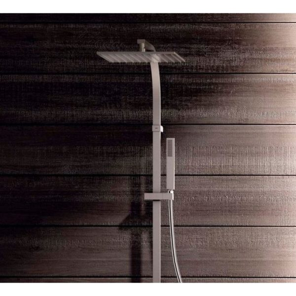 Conjunto ducha monomando anticalcarea - Tres - Cuadro
