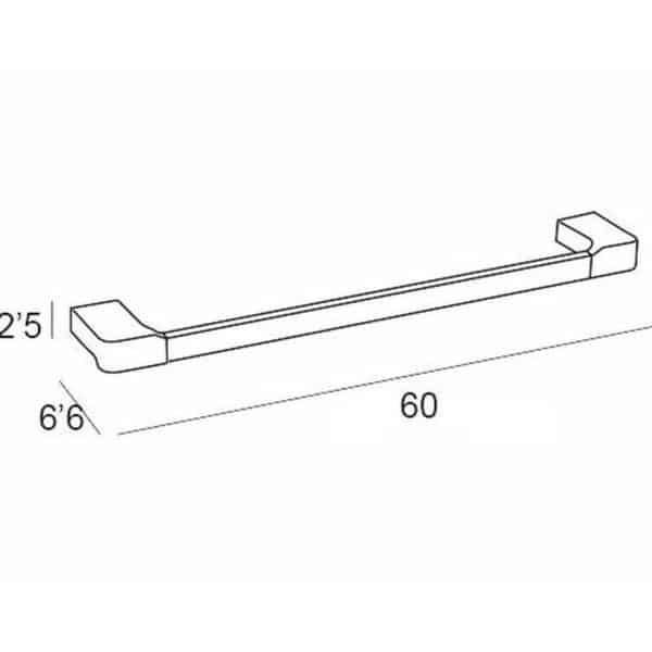 Toallero de 60 cm - Yass - Manillons Torrent