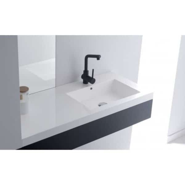 Lavabo sobremueble / encastre - Bathco - Castro