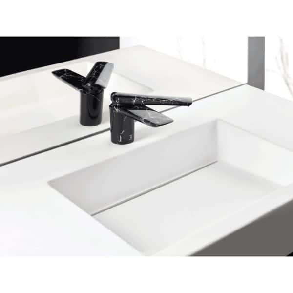 Grifo lavabo marmol negro - Seven - Galindo