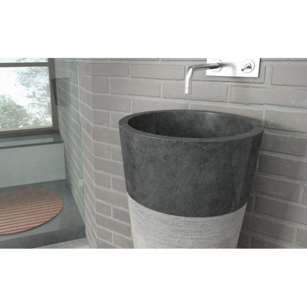 Lavabo pedestal - Bathco - Java