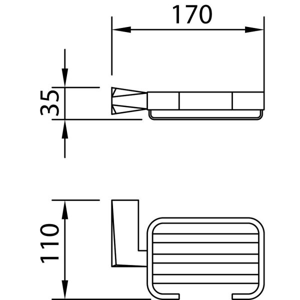 Accesorio jabonera ventu -Clever