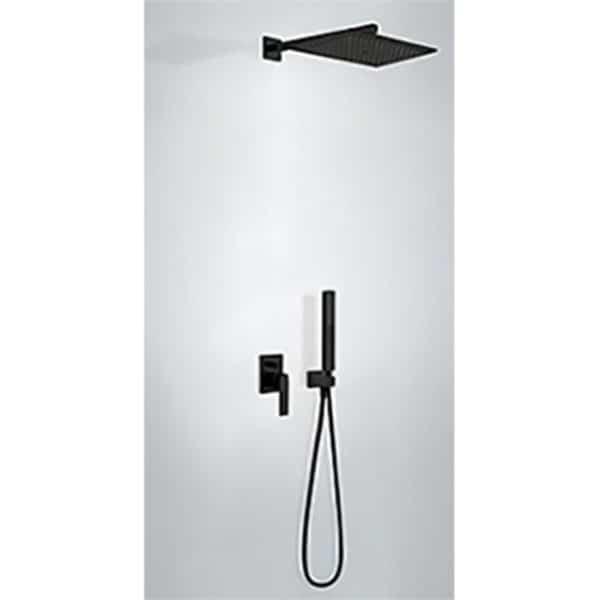 Kit de ducha monomando empotrado con cuerpo incluido - Tres - Cuadro Exclusive