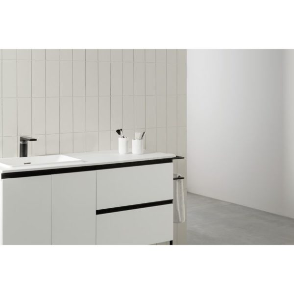Mueble con lavabo cerámico - Structure - Royo Group