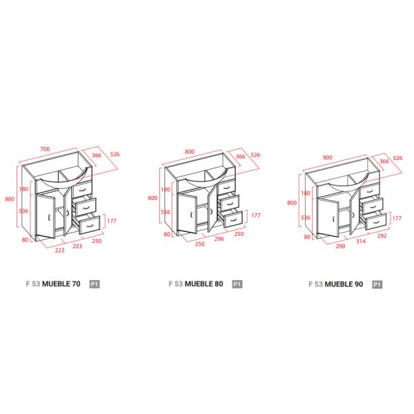 Mueble a suelo - Torvisco Group - Cedeira