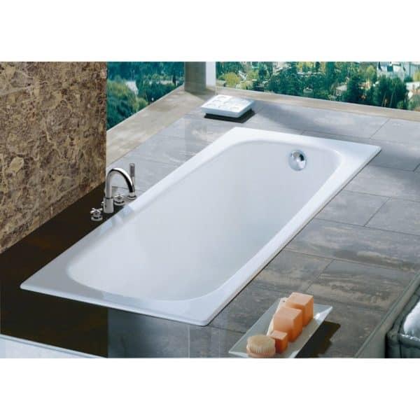 Bañera de acero rectangular - Contesa - Roca