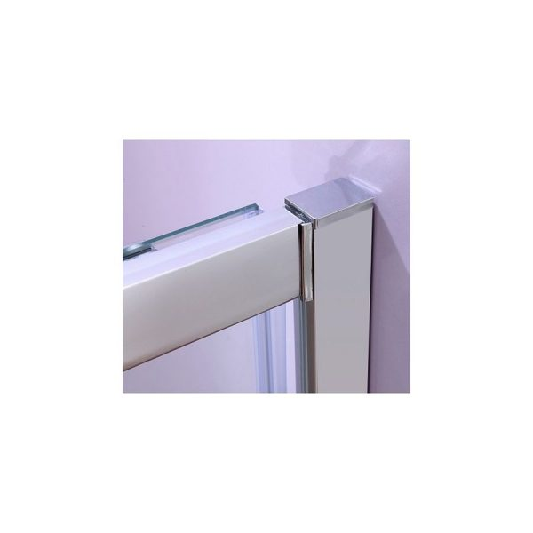 Mampara frontal 1+1 transparente - Duchapack - Zeus