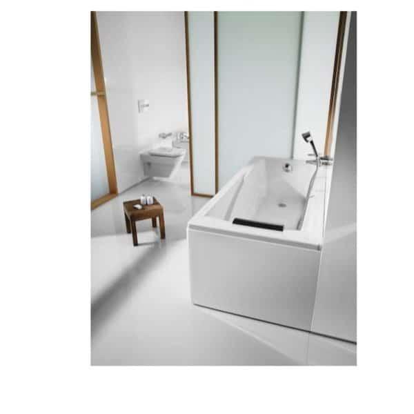 Bañera acrilica rectangular - Hall - Roca
