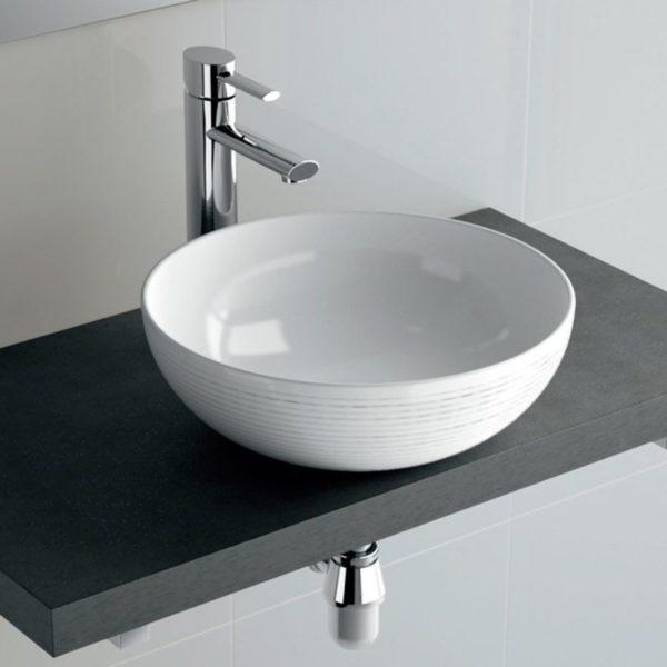 Conjunto de mueble suspendido con lavabo - Monterrey - Salgar