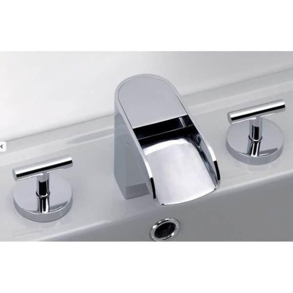 Grifo bateria lavabo cromo - Loveme - Galindo