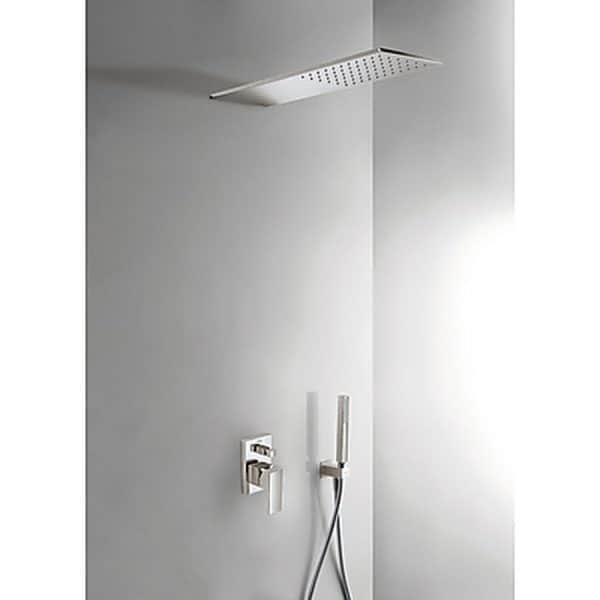 Kit de ducha monomando empotrado - Tres - Cuadro Exclusive
