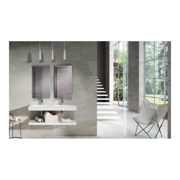Conjunto de baño Balda+lavabo encimera+Espejo-Element.12-Visobath